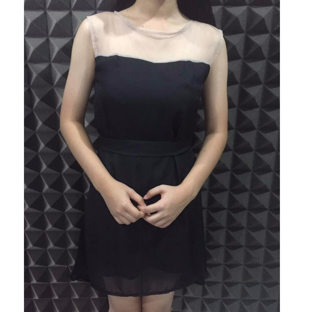 Black Tille Dress