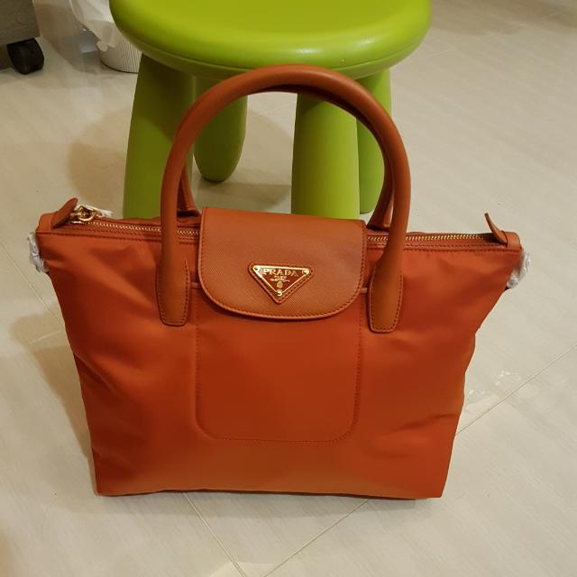 5d0c0b1a78 Quote Your Reasonable Price) BN Brand New Authentic Prada Tessuto ...