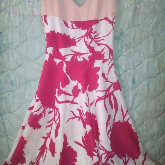Casual Chiffon Dress From Zalora