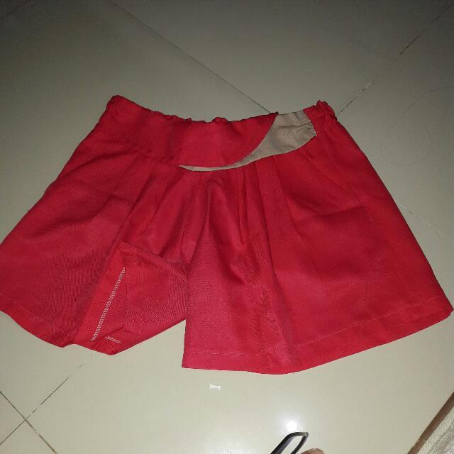 Celana Pendek Pink tua Bangkok Big Size