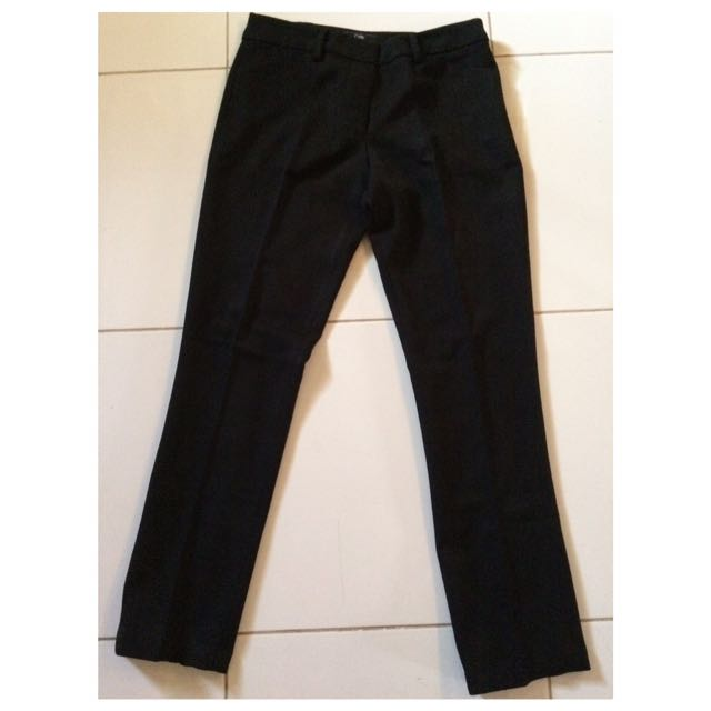 Cloe celana formal basic (hitam)