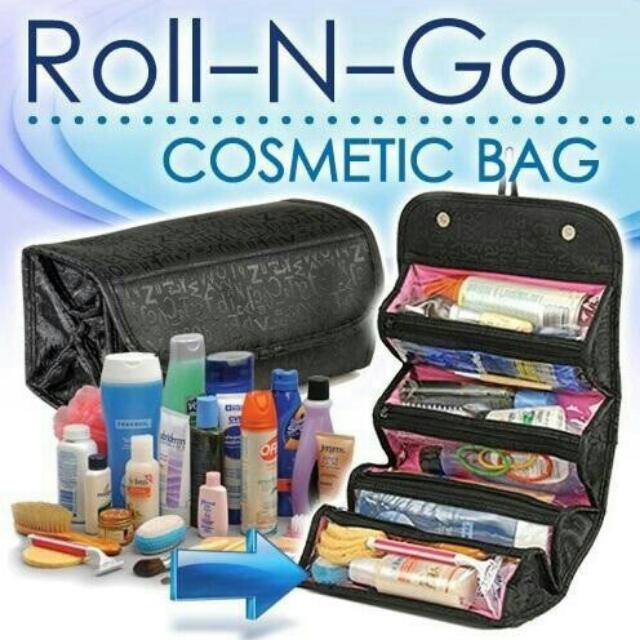 Cosmetic Bag / Tempat Kosmetik Roll N Go