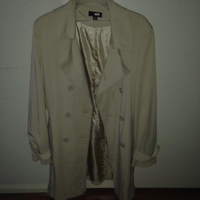 Cream Overcoat