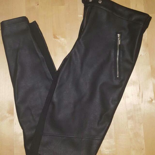 Dynamite Skinny Fit Vegan Leather Pants