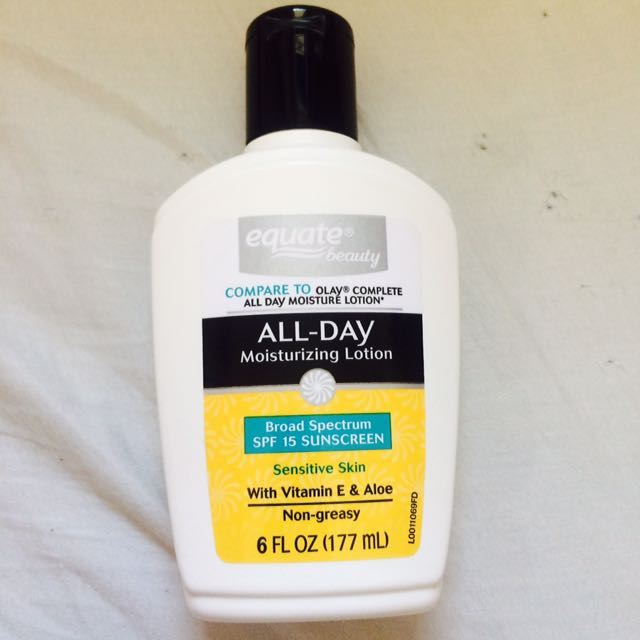 Equate All day Moisturizing Lotion