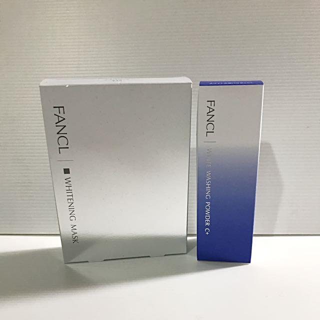 FANCL新品✨美白酵素洗顏粉/美白面膜