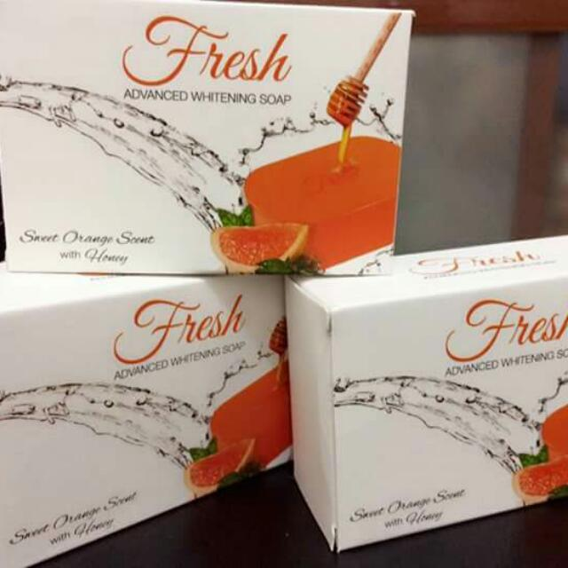 FRESH ADVANCED WHITENING SOAP