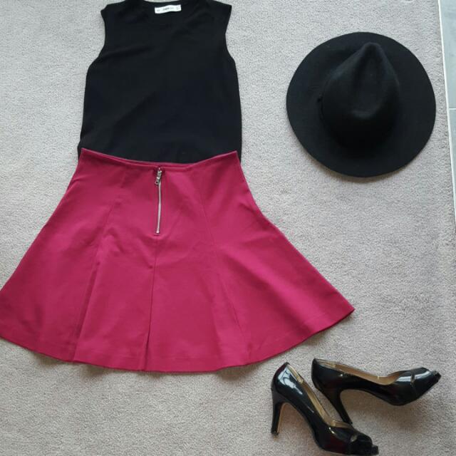 Gap Skirt Red