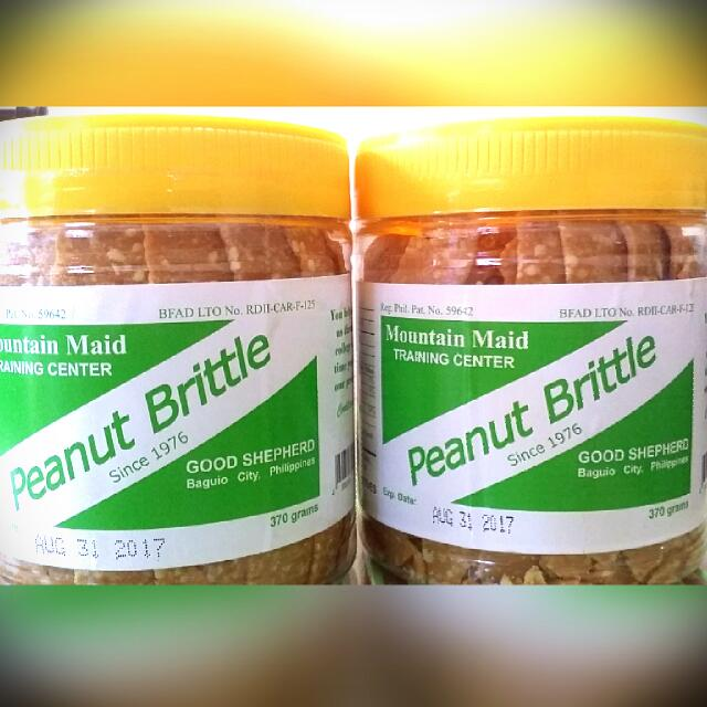 REPRICED: GOOD SHEPHERED PEANUT BRITTLE 370g