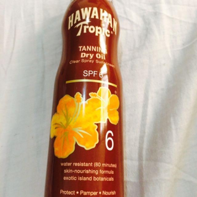 Hawaiian Tropic Tanning Dry oil