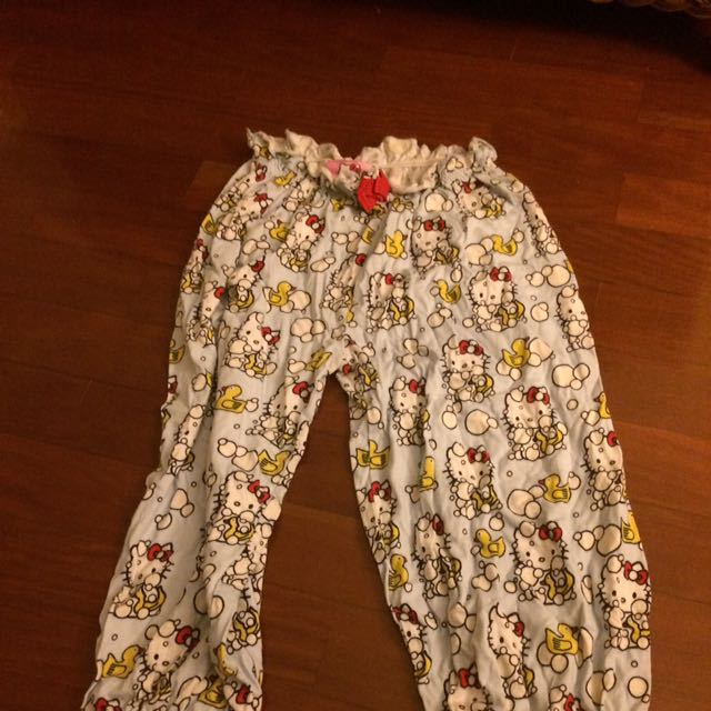 Hello Kitty Peter Alexander  XXS Pyjama Pants