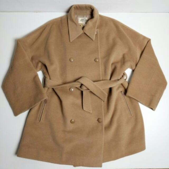Hermes 女用羊毛外套,size44