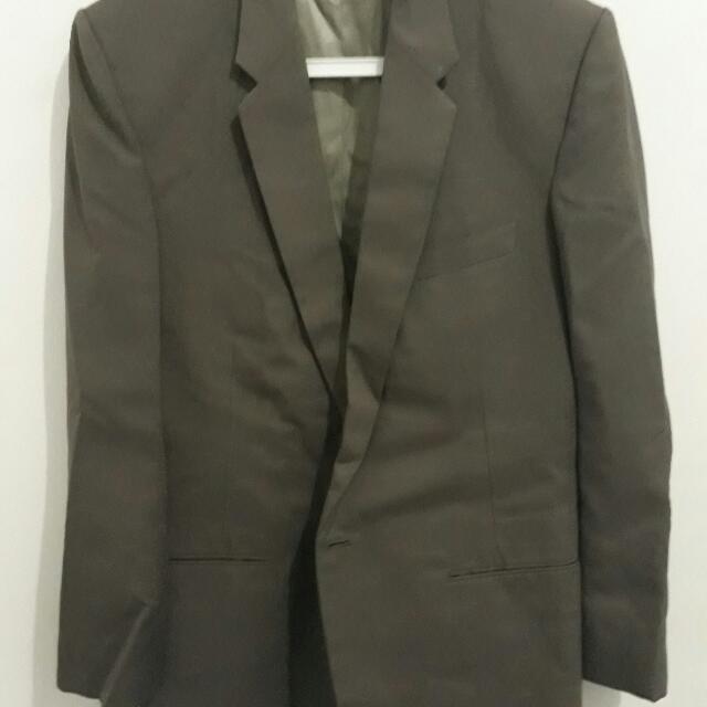 Jas Single Button Grey size M