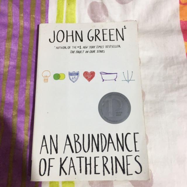 John green: An Abundance Of Catherine