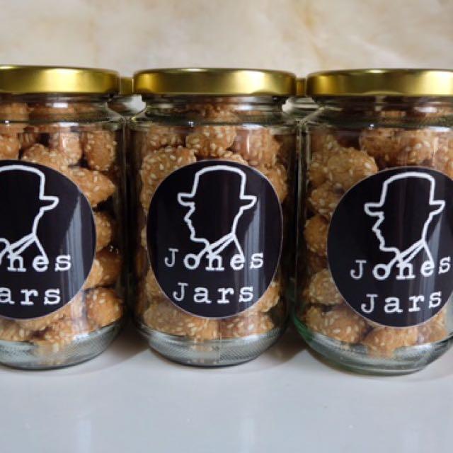 Jones Jars - Sesame Cookies (Wijen)