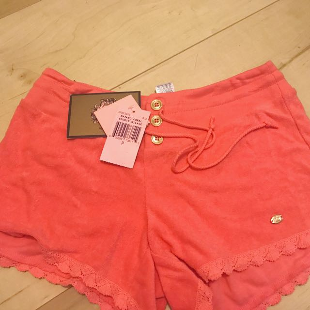 Juicy Couture Petite Coral Shorts