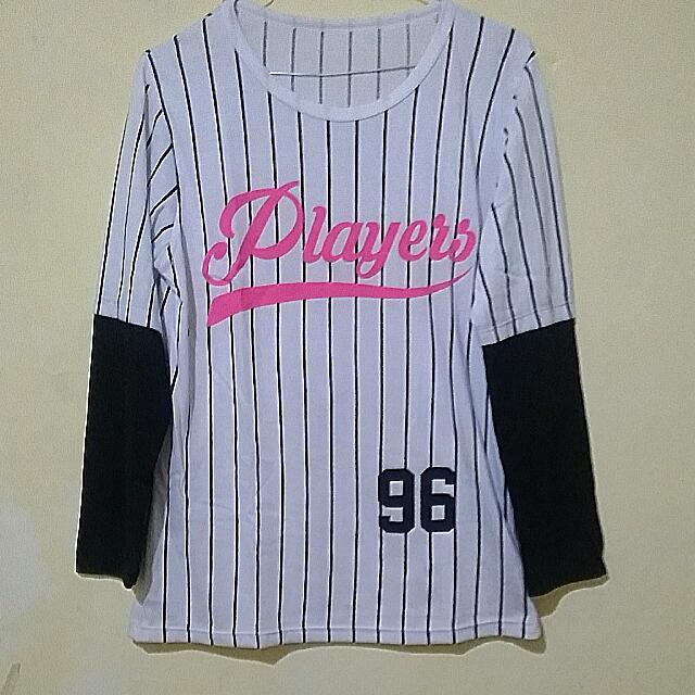 Kaos Baseball Jersey Cewek (D'girls)