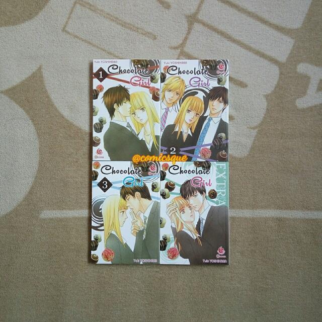 Komik Chocolate Girl 1-3 Tamat + Edisi Special