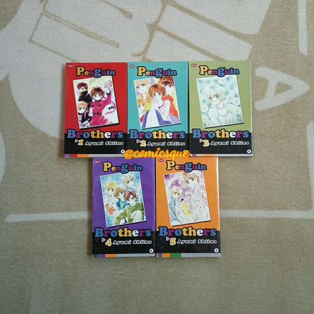 Komik Penguin Brothers 1-5 Tamat