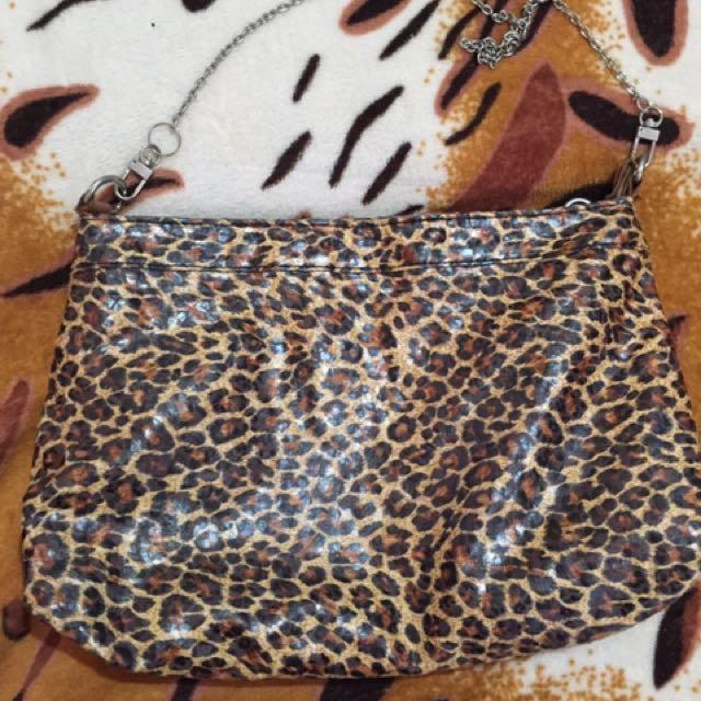 Leopard print Sling bag