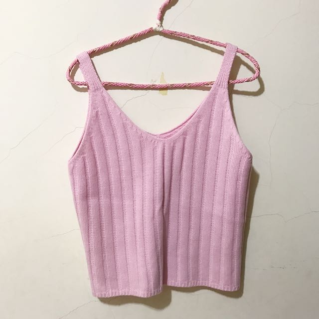 Lulu's針織背心粉色
