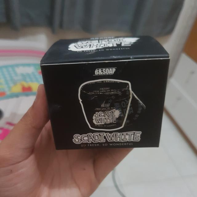 Masker Scadi White B&Soap