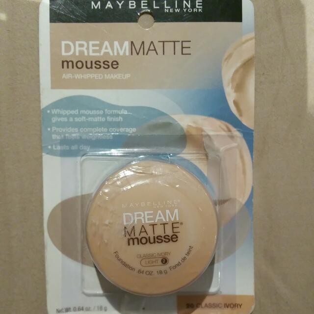 Maybeline Dream Matte Mousse