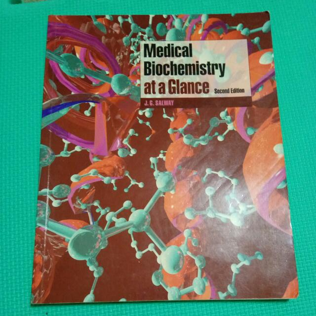 Medical Biochemistry At A Glance #教科書出清