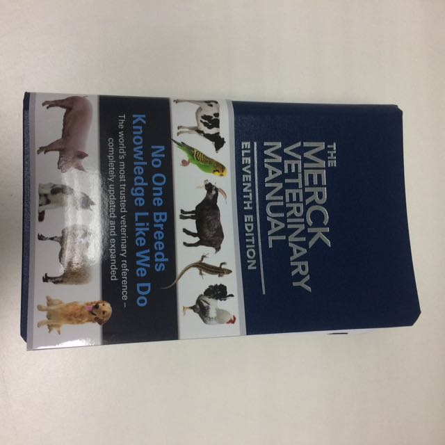 merck veterinary manual 11th edition books stationery books on rh my carousell com merck veterinary manual 10th edition pdf merck veterinary manual 10th edition pdf