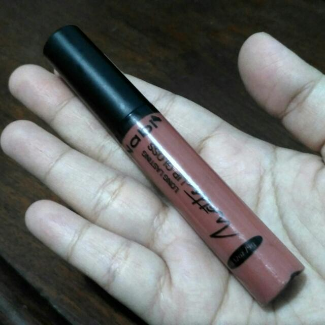 Nabi Matte Long Lasting Lip Gloss in Honey