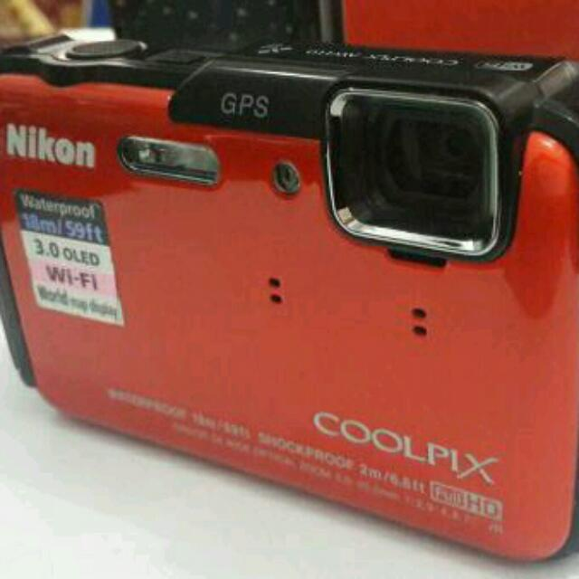 Nikon Coolpix AW110 Waterproof