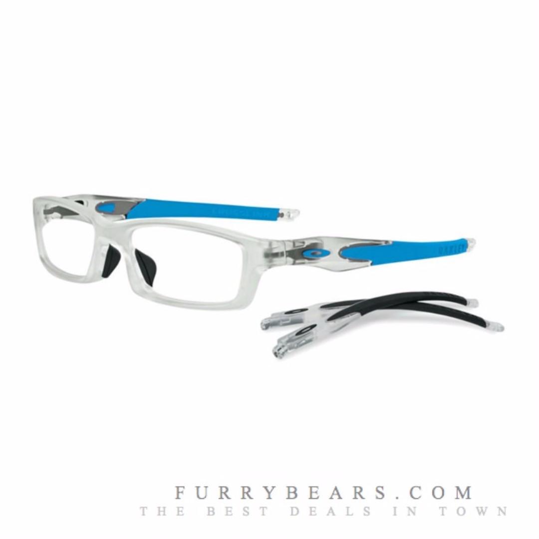 dd50023609e Oakley OX8029 CROSSLINK Asian Fit 8029-14 Frost Crystal Sky Blue ...