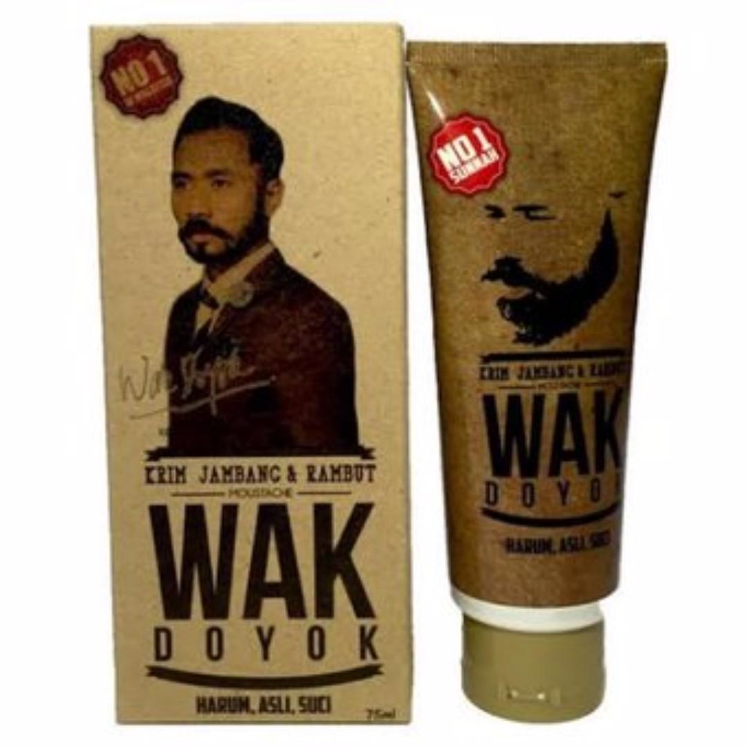 Wak Doyok Pomade Rambut Original Best Buy Indonesia Sampel 125ml Beard Hair Growth Cream Health Beauty Care On