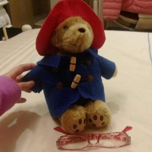 Paddington Bear 可愛穿衣小熊娃娃