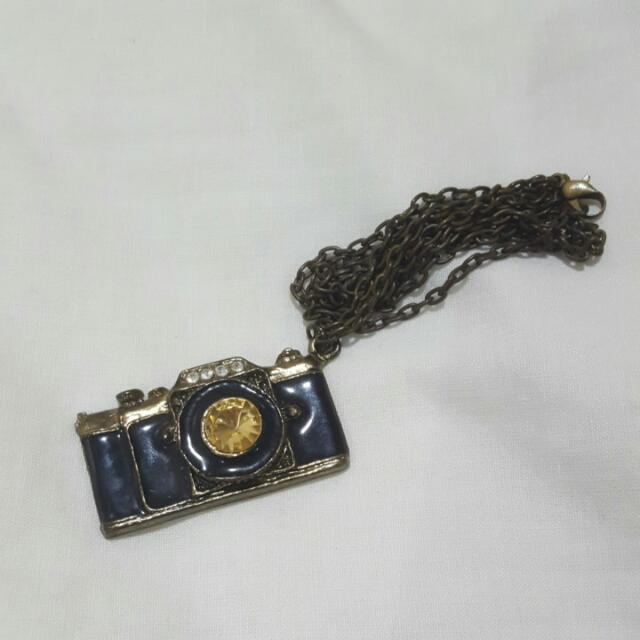 Pre-loved Camera Necklace