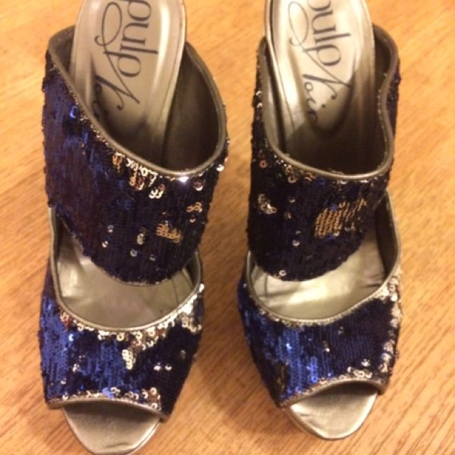 Pulp Brand - Blue And Sliver Sequin