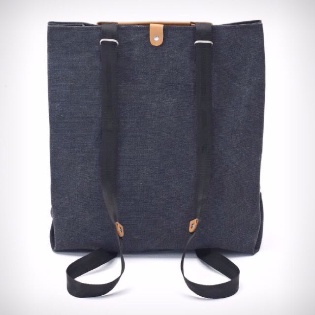 QWSTION Convertible Shopper Tote/Backpack