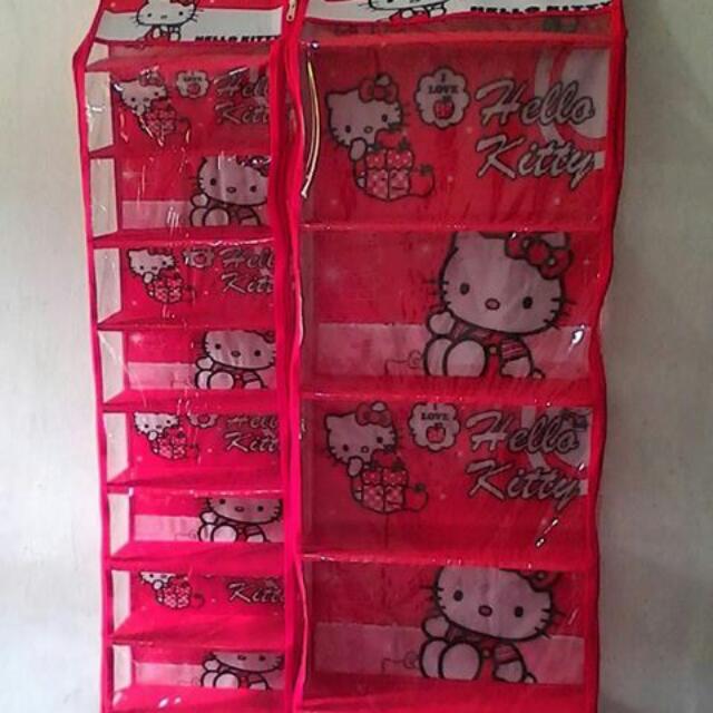 Rak Sepatu Gantung / Hanging Shoes Organizer / HSO Hello Kitty, Home & Furniture on