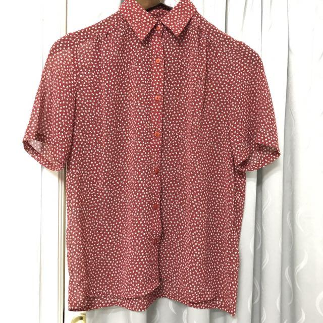Red Spring Shirt