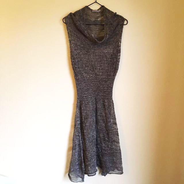🇮🇹Sarah Pacini Glitter Thread Dress