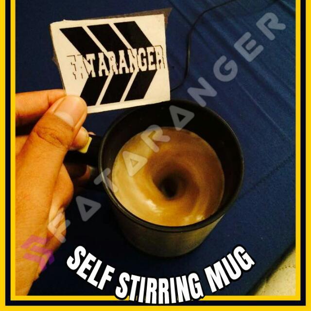 self storring mug