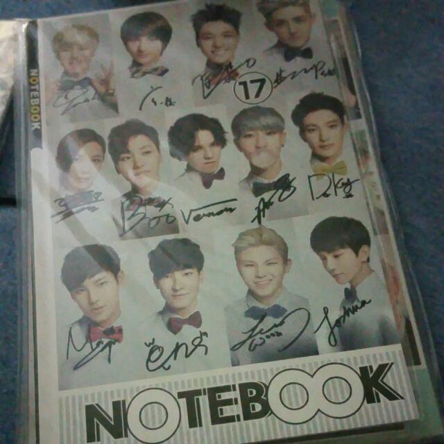 Seventeen Note Book