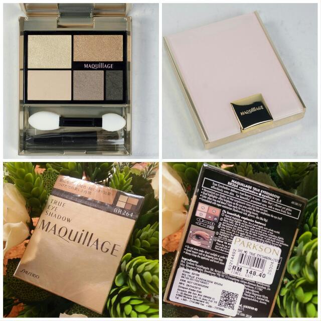 shiseido maquillage true eyeshadow