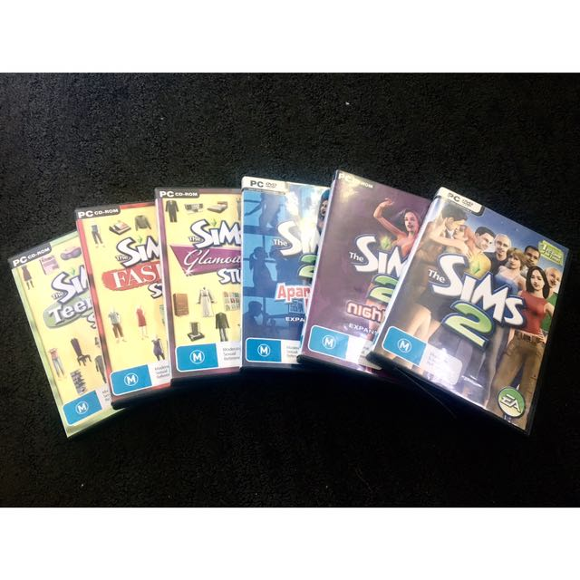 SIMS 2 INCLUDING 5 EXPANSION PACKS