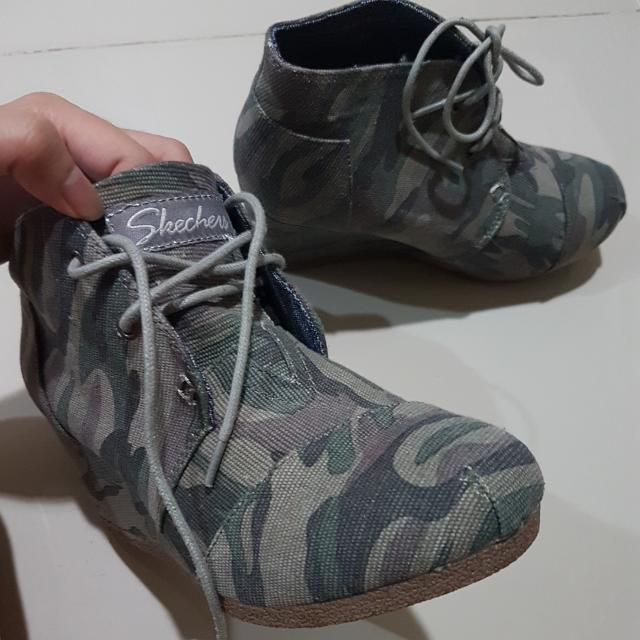 Skechers Army Shoes