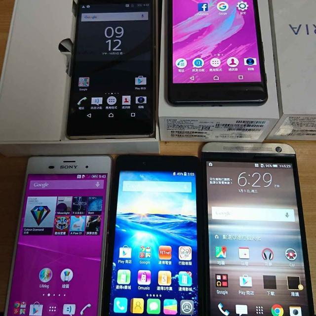 sony. z3 z4手機