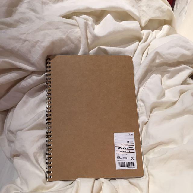 Spring Brown Notebook