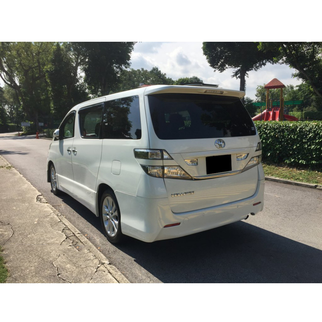 Toyota Vellfire 2 4A - Grab & Uber Ready, Cars, Vehicle