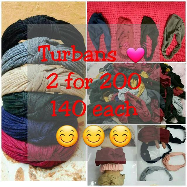 Turbans for summer