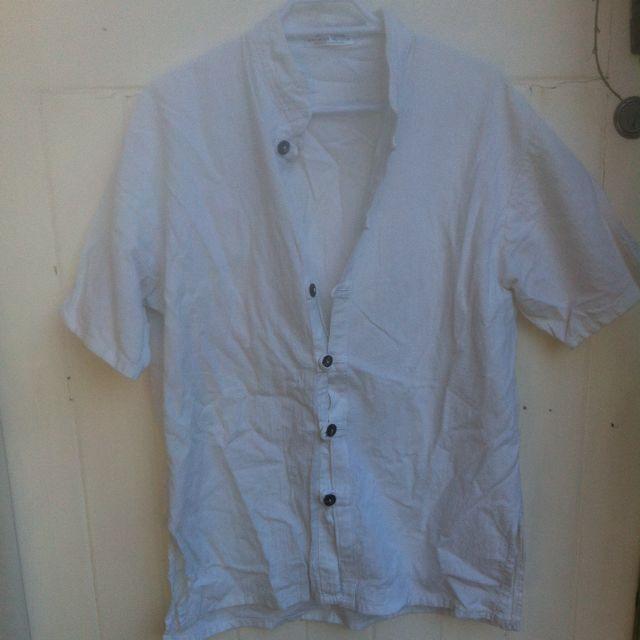 Unisex Authentic White Cotton
